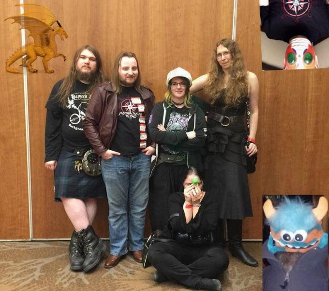 Dragonmeet 2017 (with Tensho, Jon & Dragon)
